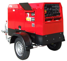 Mobile Arc Welding Current 500A Diesel Welding Machine With Electrode Holder