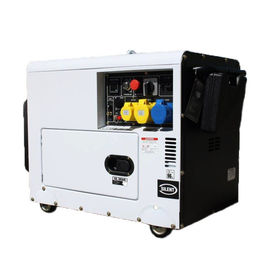Petrol Air Cooled Engine Gas Powered Generator 5kw 3kw Power Silent 4 Stroke AVR